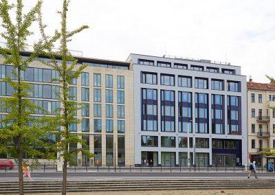 Neubau Bürogebäude Invalidenstraße 91 Berlin-Mitte