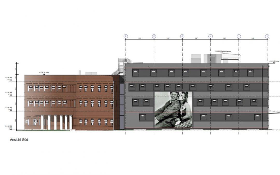 Filmmuseum, Sammlungsgebäude (Archiv) in Potsdam-Babelsberg