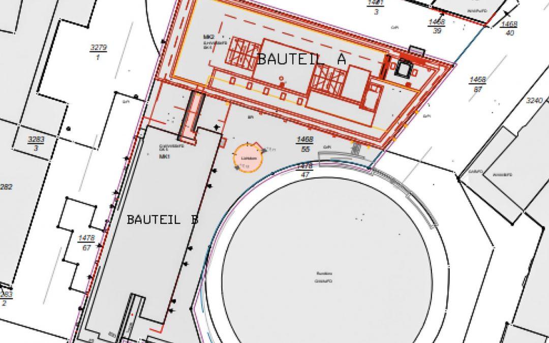Prager Straße 8 in Dresden, Umbau Kaufhaus Wöhrl Plaza zum Hotel Premier Inn